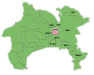 綾瀬市マップ
